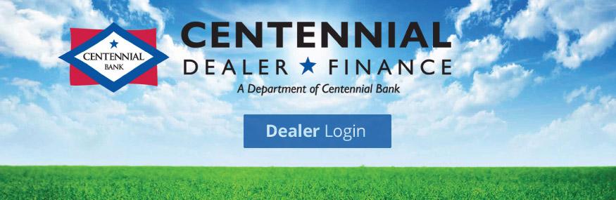 Dealer Floor Plan Financing Centennial Bank