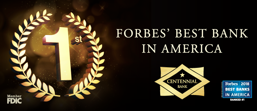 Forbes #1 Best Bank